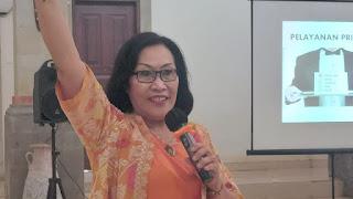 Capacity Building, Santy Sastra, Santy Sastra  Public Speaking, Budaya Kerja BNNP Bali