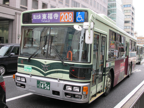 Kyoto city bus 208