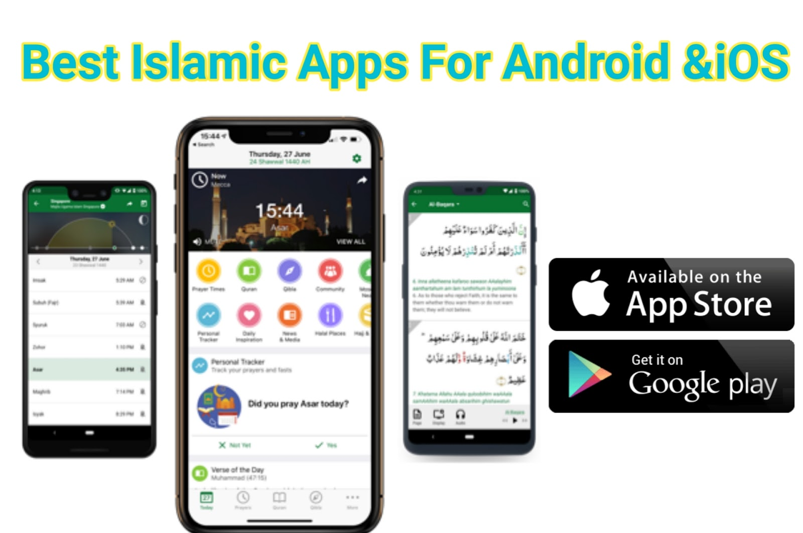 islamic apps for android phones