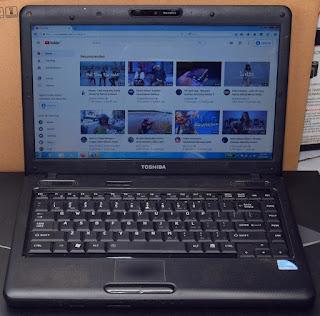 Laptop Toshiba Satellite L510 Dual-Core di Malang