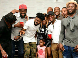 Basketmouth's Birthday House Party Photos