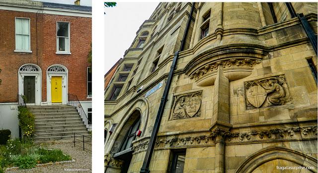 Portas coloridas e patrimônio histórico de Dublin, Irlanda