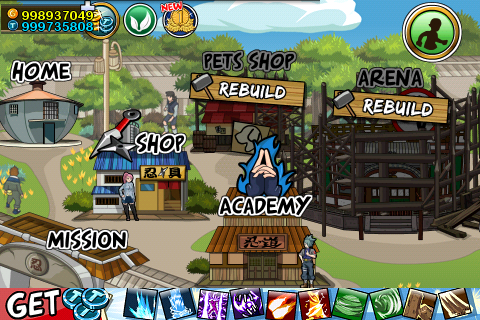 cheat token ninja saga android tanpa root