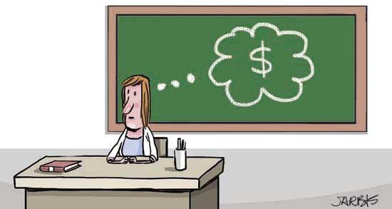 Reajuste de professores