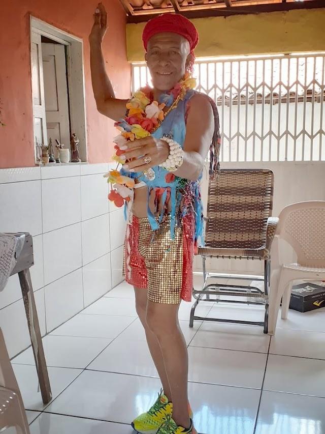 Norberto, o Noli, já vive a expectativa do Carnaval em Elesbão Veloso.