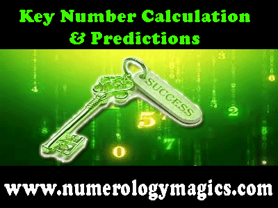 how key number is calculated, predictions by numerologist