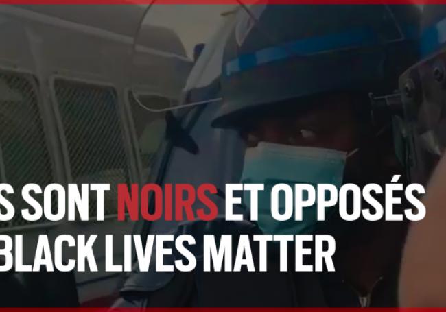 « Black Lives Matter » Ces personnes noires qui rejettent les mensonges cette mouvance
