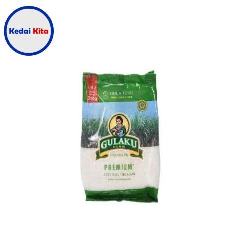 Gula Pasir Putih Gulaku 200 Gram
