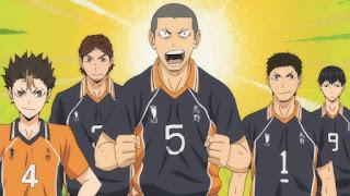 ハイキュー!! アニメ 3期9話 田中龍之介   Karasuno vs Shiratorizawa   HAIKYU!! Season3