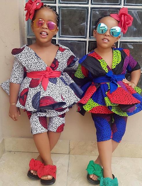 Ankara Styles for baby Girls