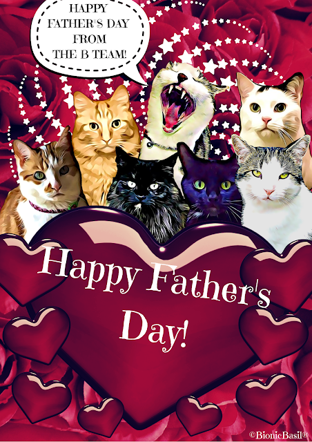 Happy Father's Day Card 2020 ©BionicBasil®