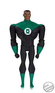 SDCC 2018 DC Collectibles Justice League Animated Series Action Figures Green Lantern John Stewart