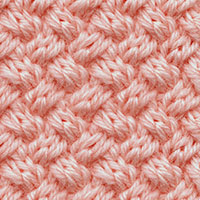 Knit Diagonal Basketweave Stitch (aka Woven Cable Stitch). A very easy to memorize cable pattern.