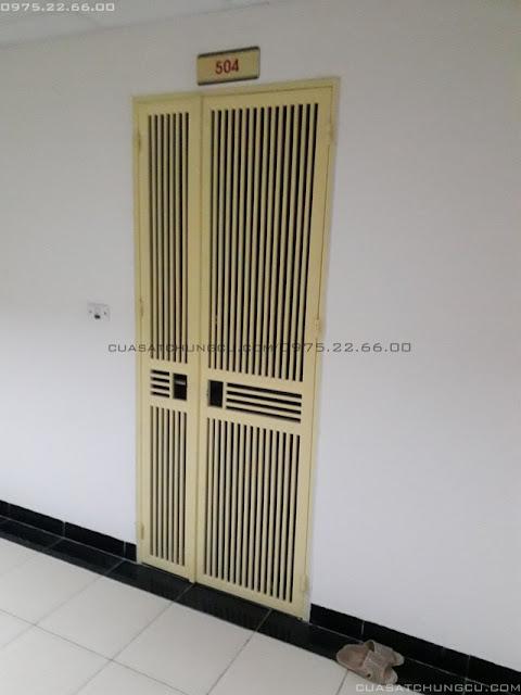 Mẫu cửa sắt chung cư đẹp tại chung cư N01-T1 Ngoại Giao Đoàn