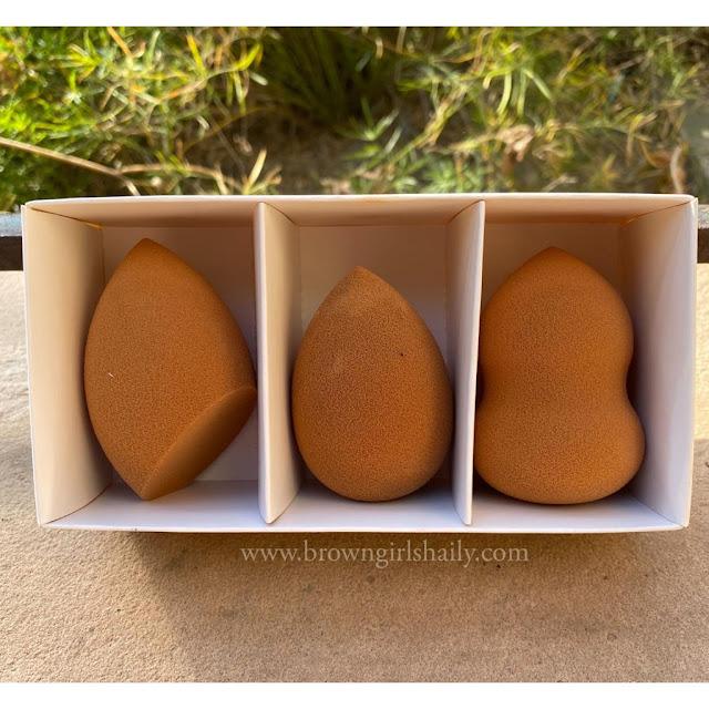 Packaging of Puna Store Makeup Sponge