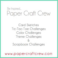 Play along the Paper Craft Crew Challenges with different themes weekly