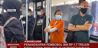 Buron Sejak 2003, Pembobol Bank BNI Gunakan Rompi Orange dan Diborgol tak Sempat Bikin eKTP