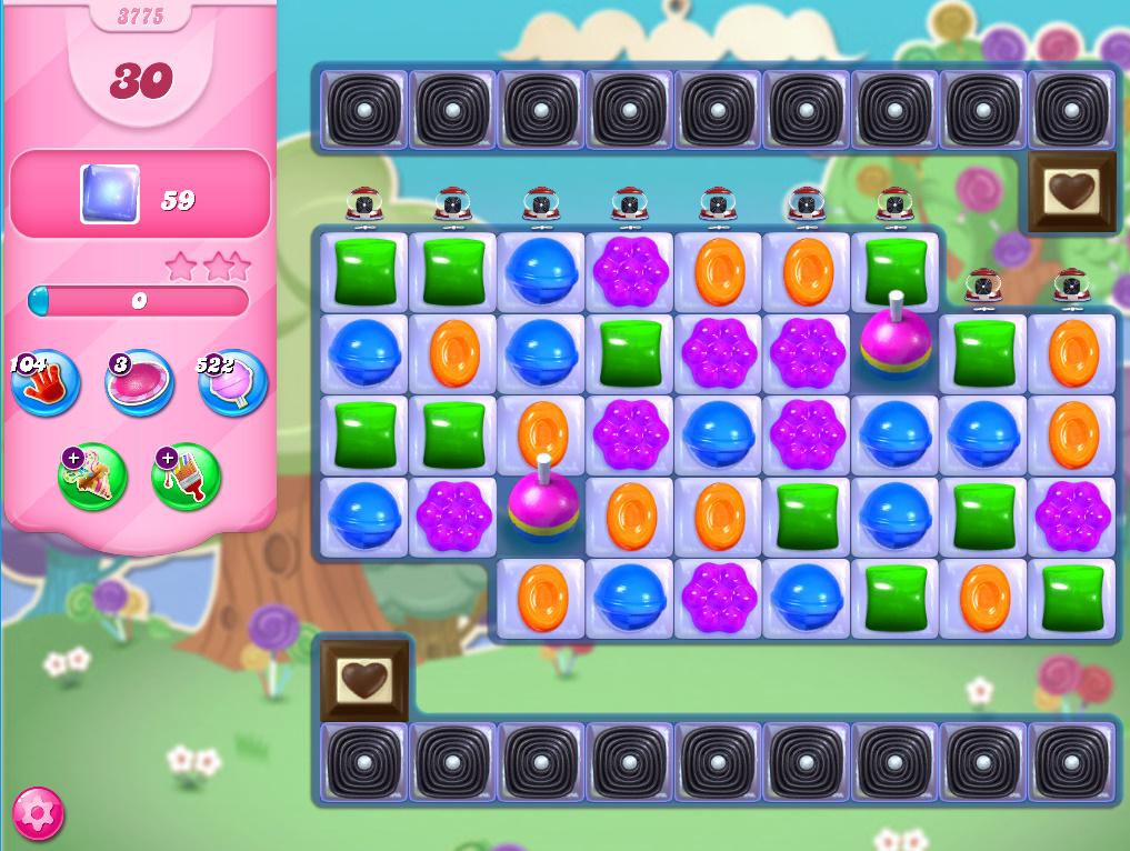 Candy Crush Saga level 3775
