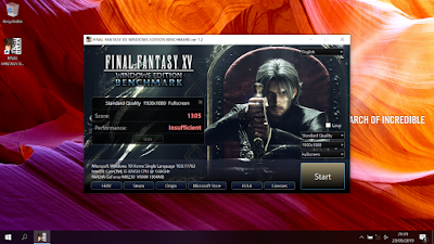 Final Fantasy XV Windows Edition - ASUS VivoBook A409FJ