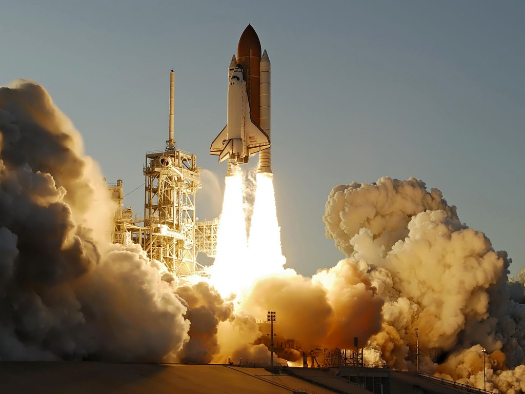 space shuttle launch to space - photo #4