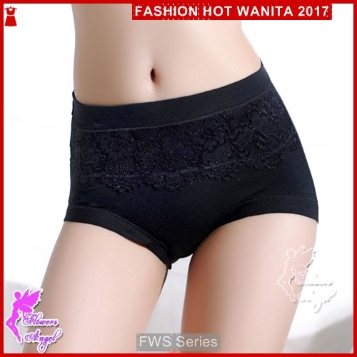 FWS063 Ladies Panty 01 Hitam Wanita Berkualitas BMG