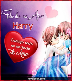 Feliz San Valentín Harry