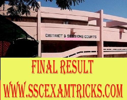 Jhajjar Court Clerk Result