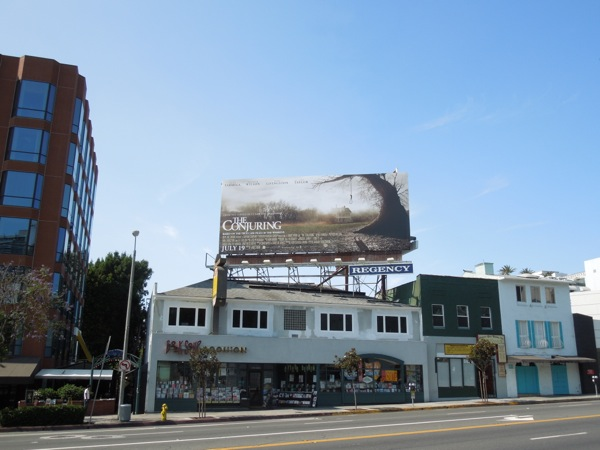 The Conjuring billboard