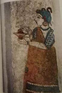 Akrotiri Priestess
