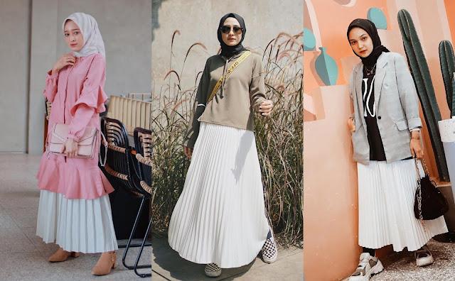 Create a Sleek and Feminine Impression with Matching a Plisket Skirt
