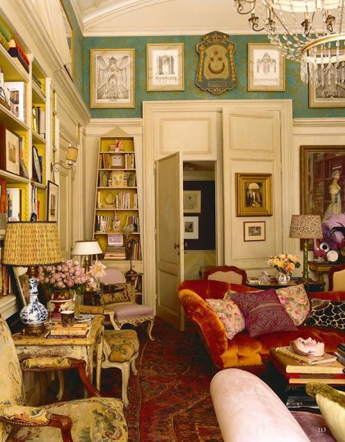 Interiors | Hamish Bowles' Manhattan Apartment