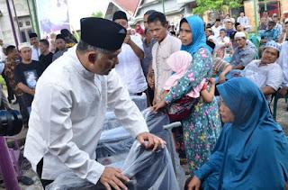 Syarif Fasha Sambangi Penyandang Disabillitas