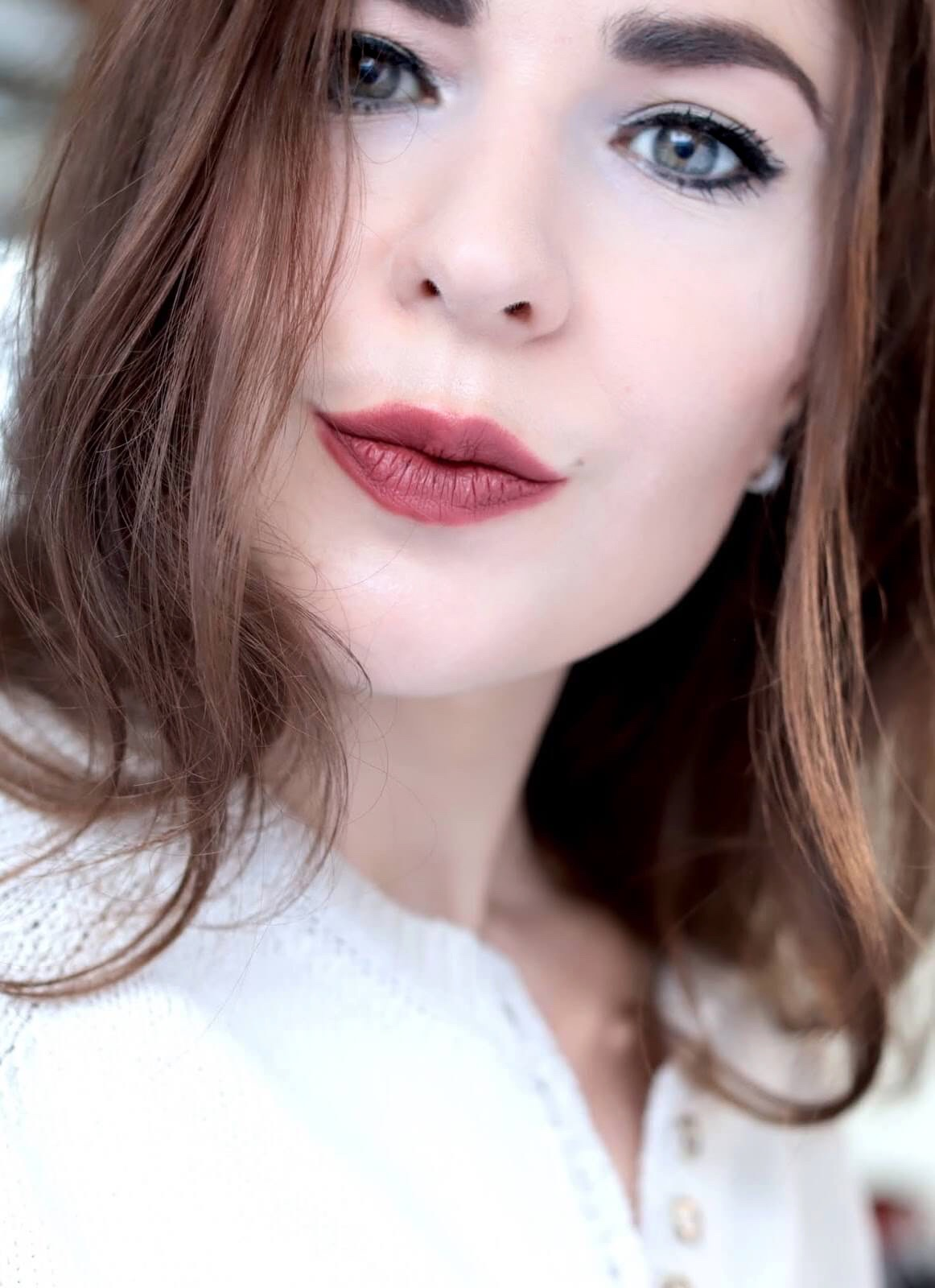 Pat McGrath Mattetrance Lipstick Flesh 3 test