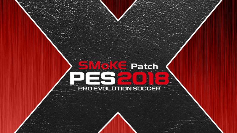PES 2018 Smoke patch X 10.1.2 AIO