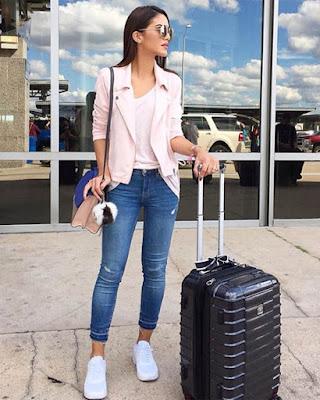Ropa para viajar tumblr casual de moda