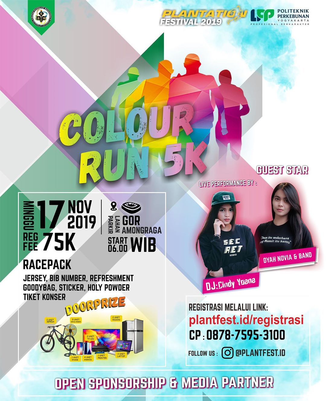 Plantation Colour Run • 2019