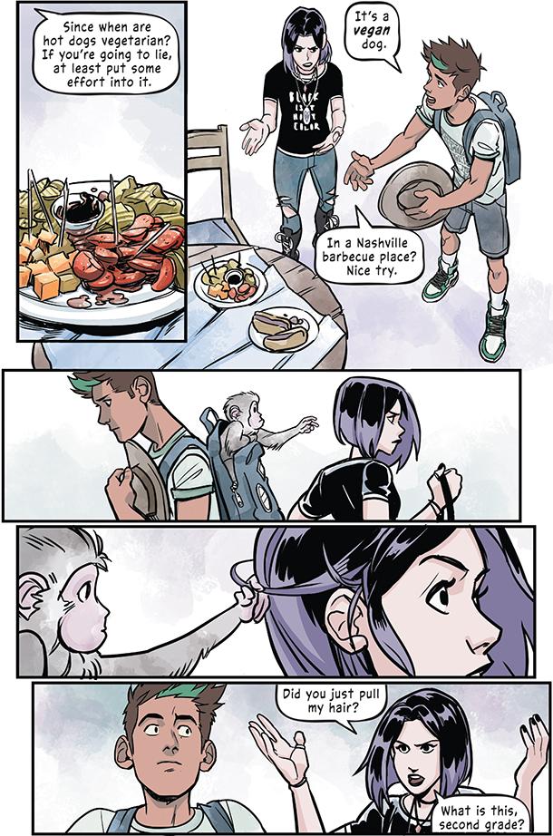 Teen Titans: Beast Boy Loves Raven - 12