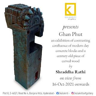 'Ghan Phut' by Shraddha Rathi at Kalakriti Art Gallery, Art Scene India