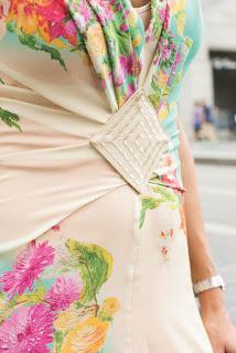 patrón de vestido de verano y bolso de polipiel (Bernina)