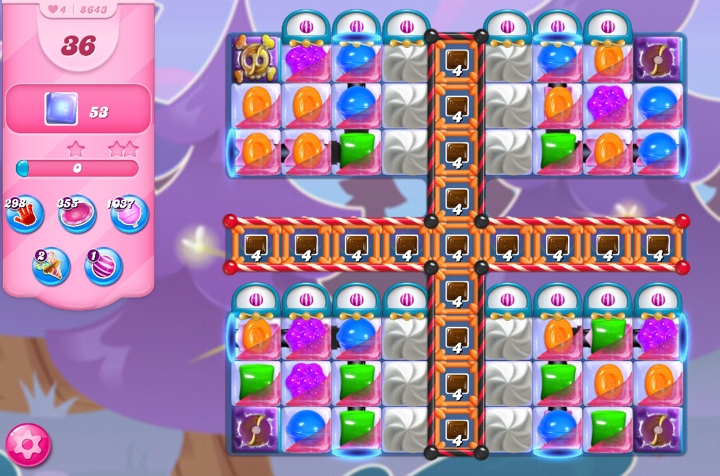 Candy Crush Saga level 8643