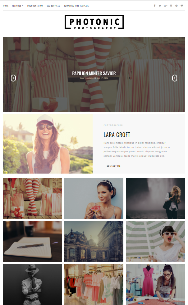Blogger Template : Still Into You Grid