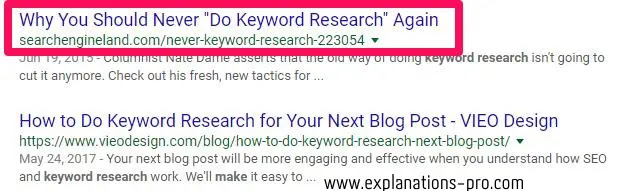 how to get website on google first page