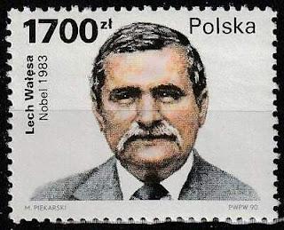 Poland Lech Walesa 1990