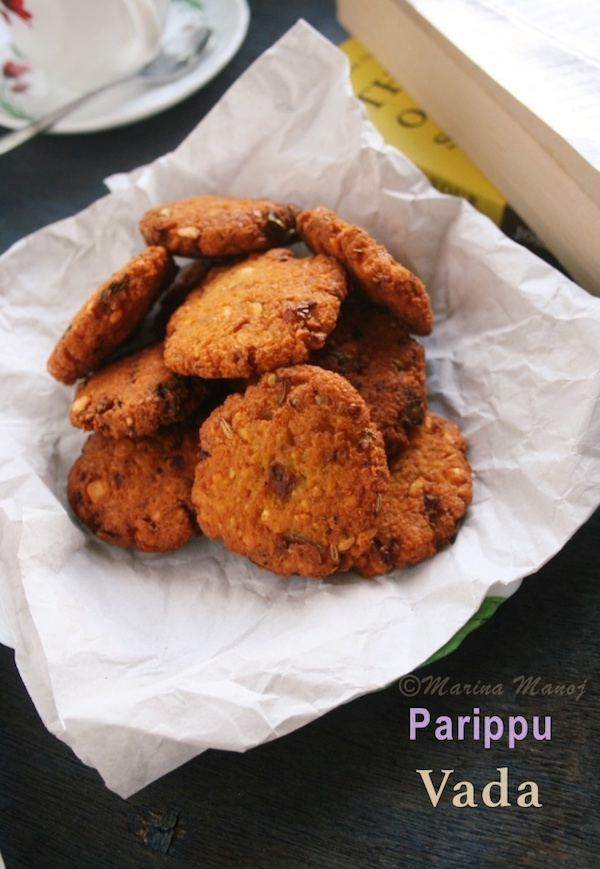 how to make Parippu Vada Kerala Style | Split Bengal Gram Flitters