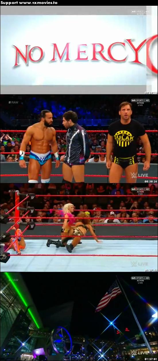 WWE Monday Night Raw 04 September 2017 HDTV 480p 500mb