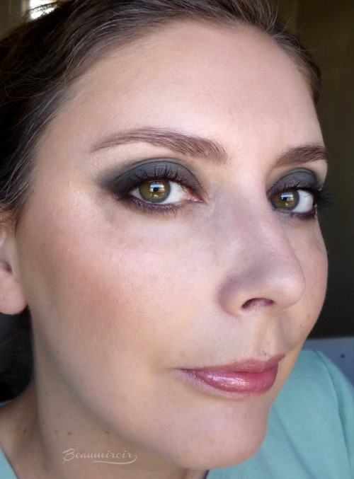 Smoky eye look with YSL Danger Seduction eyeshadow palette fotd motd