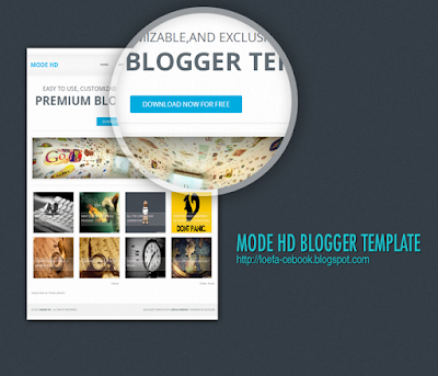Download Free Mode Hd Responsive Blogger Templates