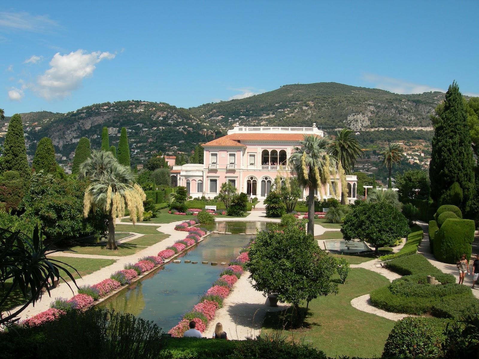 James Bond Locations: Villa Ephrussi de Rothschild / Palmyra - part 1