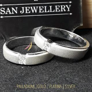 cincin couple perak emas paladium platina