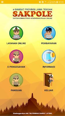 informasi pajak kendaraan jateng